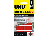 UHU DOUBLEfix Invisible 19 mm x 40 mm