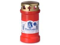 Theresia víčko 170g ~2dny červená litá