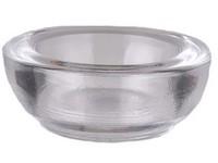 Svícen masiv sklo 40x90 na maxi čajovou svíčku