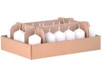 Válec 24ks 38x70 bílé svíčky