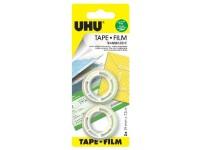 UHU Tape 7,5 m x 19 mm - čirá lepicí páska