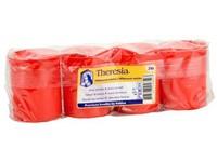 Bolsius Theresia 58g 24h. 4ks červené lité