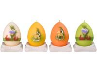 Vajíčko 60x100 beránek na svícnu svíčka mix