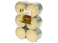 Spaas Čajové Maxi 12ks Vanilla vonné svíčky zatavené