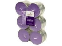 Spaas Čajové Maxi 12ks Lavender vonné svíčky zatavené