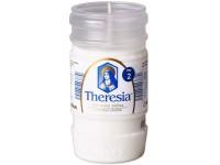 Bolsius Theresia vklad 145g ~45h bílá litá