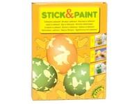 Barvičky na vejce 4 barvy + nalepovací motivy a rukavice