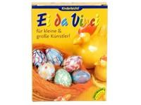 Barvičky na vejce 5 barev a 2 voskovky + rukavice a zjasňovač