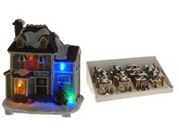 LED dioda Domek 110mm měnící barvu mix
