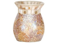 YC.Gold And Pearl Crackle/Aromalampa