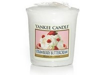 VONNÁ SVÍČKA YANKEE CANDLE STRAWBERRY BUTTERCREAM VOTIVNÍ