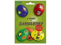 Barvičky na vejce 5 barev + samolepky I.zelené