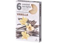 Čajové 6ks Vanilla vonné svíčky