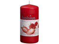 Bolsius Aromatic Válec 60x120 Sweet Strawberry vonná svíčka