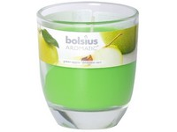 Bolsius Aromatic Sklo 70x80 Green Apple vonná svíčka