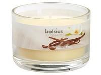 Bolsius Aromatic Sklo 90x65 Vanilia vonná svíčka
