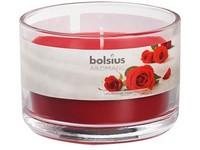Bolsius Aromatic Sklo 90x65 Velvet Rose vonná svíčka