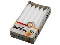 Bolsius Domácí 10ks 20x170 bílé svíčky RAL