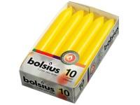 Bolsius Domácí 10ks 20x170 žluté svíčky RAL