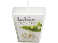 Bolsius Aromatic Votiv 48mm Lily of the Valley vonná svíčka