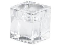 Bolsius Svícen sklo masiv 48x50 mm na Čaj. svíčku čirý