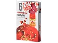 Čajové 6ks Romantica vonné svíčky