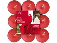 Bolsius NR Čajové 18ks Wild Roses vonné svíčky