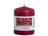 Bolsius NR Válec 60x80 Lovely Cranberry vonná svíčka