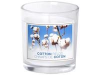 Bolsius NR Sklo 72x80 Cotton Fields vonná svíčka