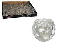 Svícen sklo 75x70 na čajovou svíčku bublinky