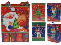 Taška 300x420 3D desing vánoční mix