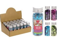 Dekorativní konfety 50g mix barev