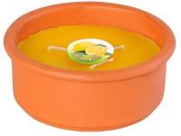 Citronella terakota 180x76 mm tříknotá