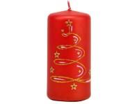 Vítr pouště Válec 58x120 červená svíčka
