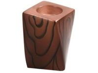 Svícen keramika 105mm desing dřevo