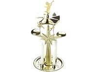 Andělské zvonění 130x270mm zlaté