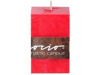 Emocio Rustic hranol 50x80 červená svíčka