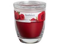 Bolsius Aromatic Sklo 100x120 Velvet Rose vonná svíčka
