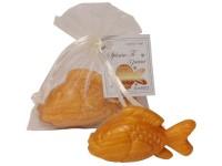Mýdlo 30g zlatá rybka v organzovém sáčku