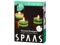 Spaas Čajové 24ks Eccentric eucalyptus clearlight vonné svíčky