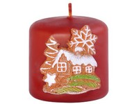 Vánoční perník Válec 50x50 vonná svíčka