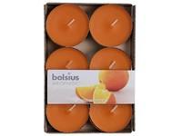 Bolsius Aromatic Čajové Maxi 6ks Juicy Orange vonné svíčky