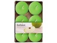 Bolsius Aromatic Čajové Maxi 6ks Green Apple vonné svíčky