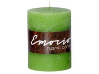 Emocio Rustic válec 60x80 olivová svíčka