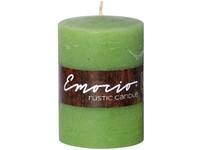 Emocio Rustic válec 70x100 olivová svíčka