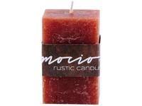 Emocio Rustic hranol 50x80 hnědá svíčka