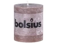 Bolsius Rustic Válec 68x80 hnědá svíčka