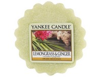YANKEE CANDLE LEMONGRASS & GINGER VONNÝ VOSK DO AROMALAMPY
