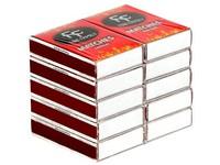 Zápalky 10 krabiček 45mm klasik
