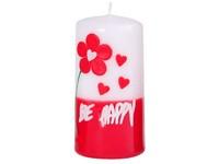 Válec 58x120 Be Happy svíčka
